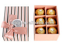 6 pcs Chocolate packing paper box/home delivery box