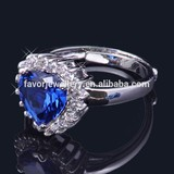 2014 new silver promise rings for girlfriend