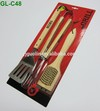 bbq tools 3PCS bbq set with card board packing -C48