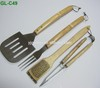 bbq tools 4PCS bbq set with card board packing -C49
