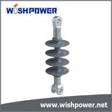 Composite suspension and tension insulator