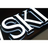 Well design Mini LED back lit & front lit acrylic channel letter