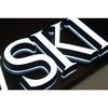 Well design Mini LED back lit & front lit acrylic channel letter