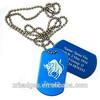 2014 new printed oval dog id tag