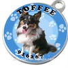 metal dog tag pet tag for military