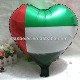 custom printing UAE flag balloon