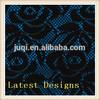 China Manufacture Single Jacquard Knitting Machine Knitting Polyester Lace Fabric Wholesale