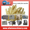 instant frozen french fries making machine