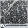 2015 fashion popular nylon spandex lace fabric for garment and black velvet evening dress lace wedding dress patteraccessories