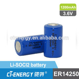 3.6V ER14250m battery high performance type