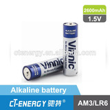 Vinnic r6 aa battery 1.5v / AA alkaline battery