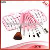 7pcs Promotional makeup brush set