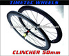 AIRFOIL CLINCHER WHEELS 50MM