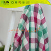 100 cotton fabric yarn dyed woven fabric