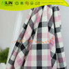 cotton fabric yarn dyed yarn dyed check fabric