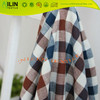 100% cotton fabric yarn dyed check