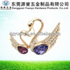 Hot Wholesales Fashion Design Alloy Flower Spilla Broche Brosche Brooch