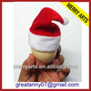 yiwu market wholesale funny christmas santa hat xmas ornament cap