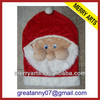 wholesale custom new style xmas santa caps and hats christmas decoration for children