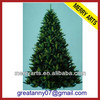 alibaba express wholesale 7ft (210CM) outdoor giant pvc artificial christmas tree for sale