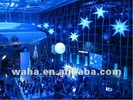 night club decor with led inflatable stars