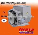 13KW three Phase 2 pole brushless alternato diesel generator