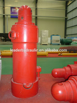 huge and heavy hydraulic cylinder