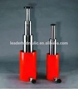 Manufacturing telescopic hydraulic cylinder custom design best quality