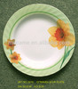 "2406-2411 6""-11"" melamine wave soup flower plate for hotel"