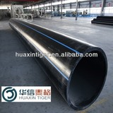 Large diameter plastic pipe, High destiny PE pipe