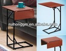 RH-4646 New Flip Top adjustable Sofa side Table,living room accent end table or snack coffee table