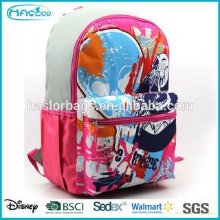 Fashion custom made cute girls school backpack for teenager