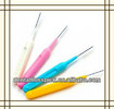 High quality I shape interdental brush with soft handle