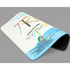 Advertising customized sublimation rubber mouse pad, Promotional mouse pad