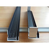 solar panel frame,black anodized aluminium