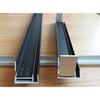 solar panel frame,black anodized aluminium
