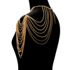 body chain peal necklace bib necklace fashion jewellery