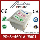 three buttons Iran electric rocker switches for air condition