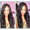 Brazilian Virgin Hair long wavy Human Hair Wigs With Baby Hair No Tangle No Shedding Silk Top Full Lace Wigs/lace front wigs