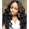 2014Black Friday & Cyber Monday &Thanksgiving Day 50% off Special promotion :Brazilian vrigin human hair body wave lace front wig