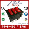 Hot selling three buttons Iran electric rocker switches for air condition
