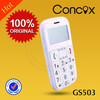 Concox GS503 elderly gps cell phone low price with long standby time and big keyboard.