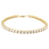 Diamond Tennis Bracelet in 18k yellow gold
