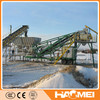 Haomei mobile concrete mixing plant YHZS25