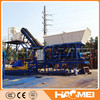 YHZS25 mobile concrete batching plant in algeria