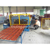 hydraulic colorful metal roof glazed tile roll forming machine