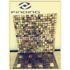 Eco-friendky and Recyclable aluminium metal mosaic tile