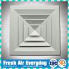 Aluminum 4 way supply square air diffuser