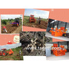 Hot sale cassava root harvester,cassava roots digger