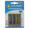 TIANQIU ALKALINE  BATTERY LR6